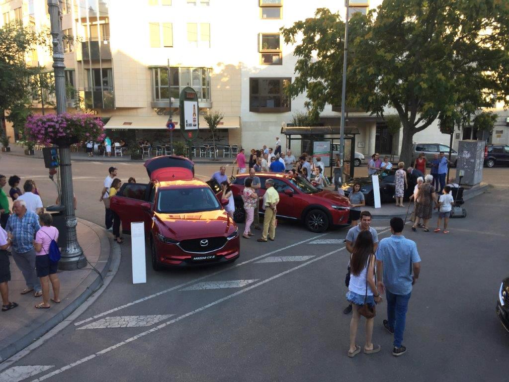 Mazda Skyactiv Tour con prueba de coches en Huesca