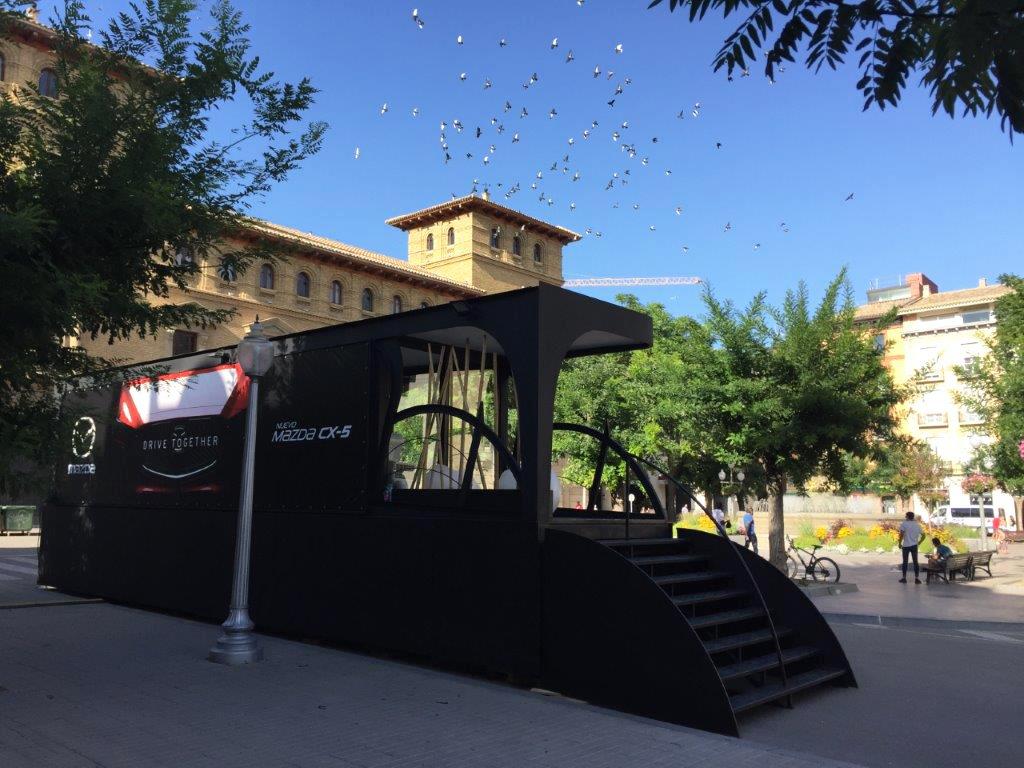 Skyactiv Tour Mazda en Huesca