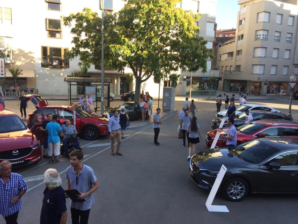 Gama de vehículos Mazda al completo en Huesca