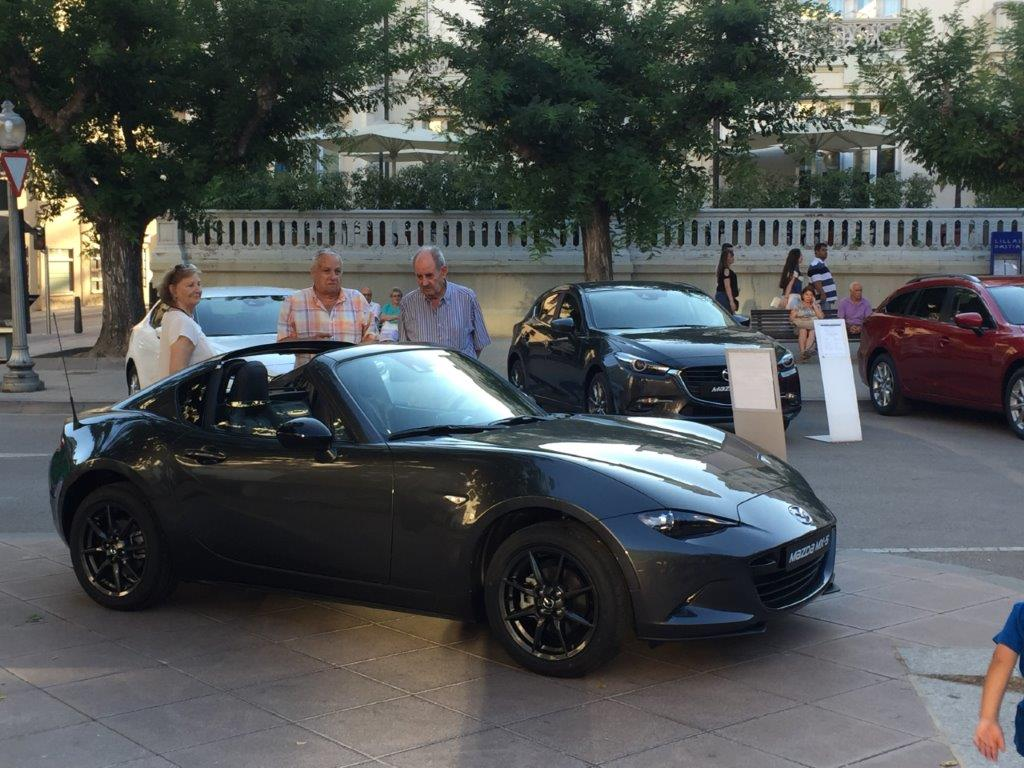 Prueba el Mazda MX-5 en Gratal Motor Huesca