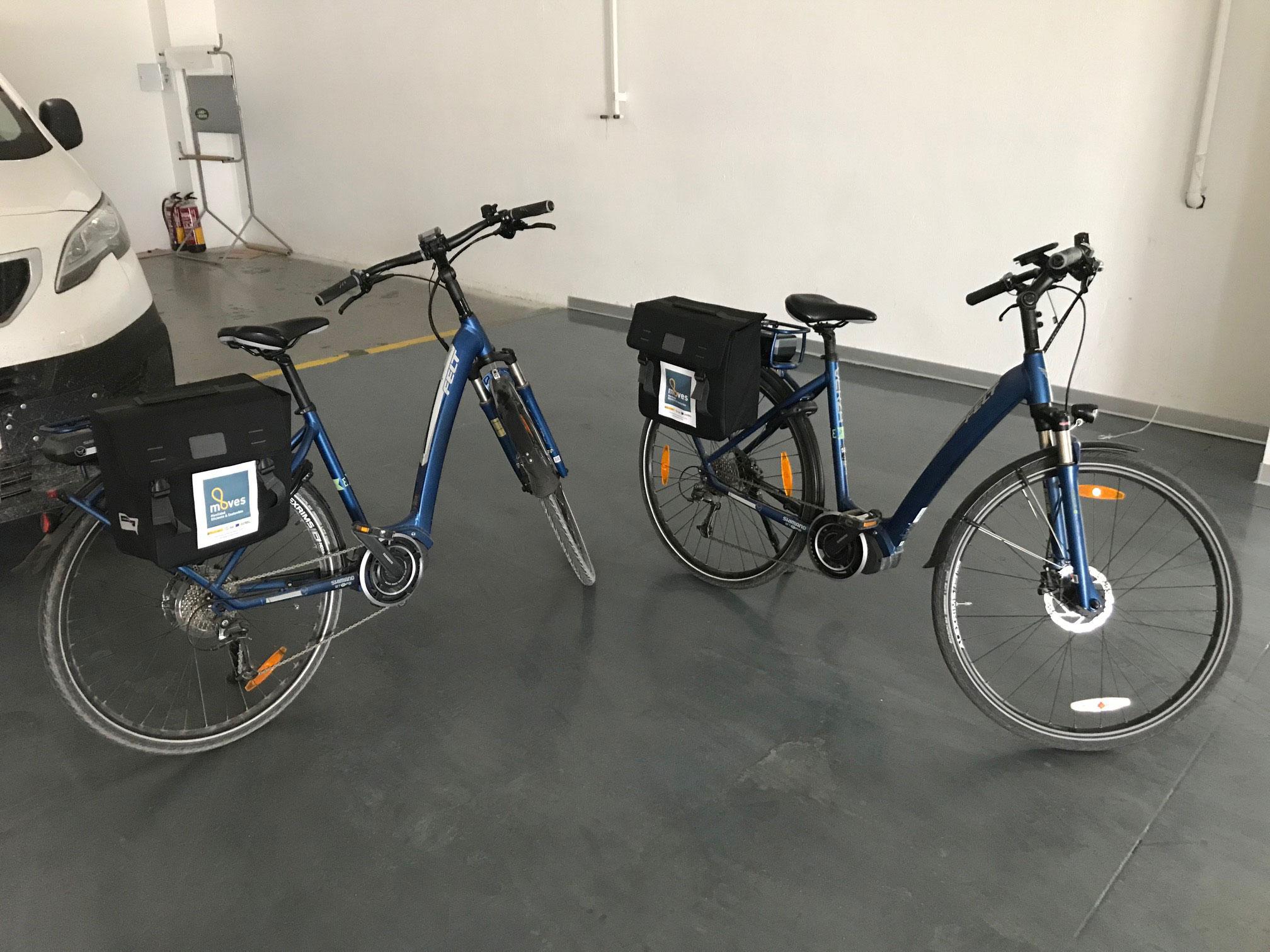 Movilidad sostenible con bicicletas eléctricas en el taller de Tumasa en Huesca y Monzón