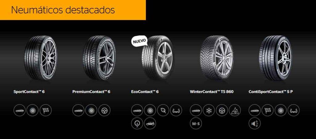2x1 ruedas Continental en Tumasa Huesca y Monzón
