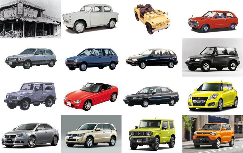 Repasa toda la historia de los modelos de Suzuki en sus 100 años de historia en Tumasa